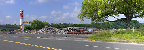 Marcus Dairy post Demolition