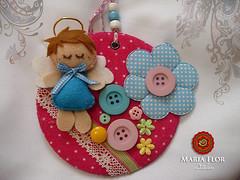 Aproveitando Cd velho (mariafloratelier2) Tags: doll felt fairy feltro boneca bonecadefeltro fairyfelt