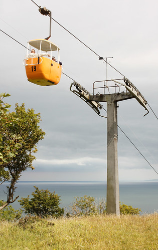 Cable car on the Great Orme, Llandudno by Helen in Wales