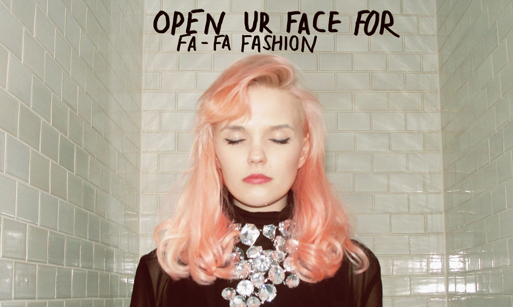 open ur eyes for fashion- strange ambition