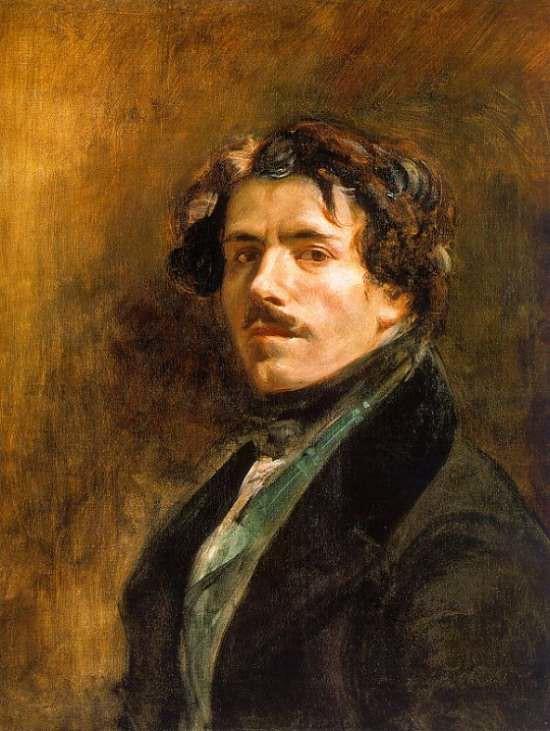 Delacroix - Autoportrait