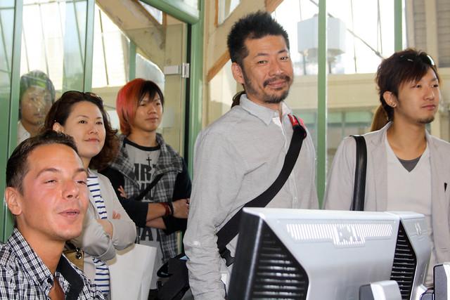 Les vendeurs japonais à la rencontre des graphistes de PRICEMINISTER