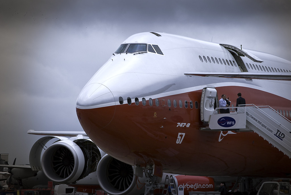 Boeing 747-800 by RohanVisvanathan, on Flickr