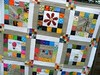 European Stories (monaw2008) Tags: quilt handmade fabric swap block patchwork applique monaw monaw2008 eurobeeblock