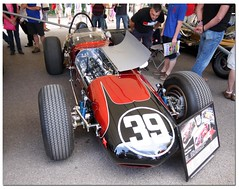 "1963 Watson Offenhauser ""Bardahl Special"" Indy Car. ""100 Years Indianapolis 500"" Goodwood Festival of Speed 2011 (Antsphoto) Tags: auto uk classic car sussex britain indianapolis historic cart fos motorracing goodwood carshow motorsport speedway irl racingcar chichester autosport champcar indy500 indycar brickyard usac motorcar sigma1020mm indianapolis500 2011 hstoric goodwoodfestivalofspeed goodwoodhouse canoneos40d bardahlspecial antsphoto anthonyfosh 1963watsonoffenhauser goodwoodfestivalofspeed2011 gooodwoodhouse 100yearsindianapolis500 100yearsindy500"