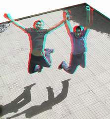 Phantoboys_Anaglyph 3D picture: You need Red/Cyan glasses (Shahrokh Dabiri) Tags: boys persian stereoscopic 3d jump jumping iran picture anaglyph stereo iranian depth throughthewindow redcyan phantogram 3dpicture dabiri ttweffect