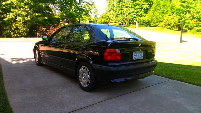 black bmw 1997 ti 318 318ti barmann denlin