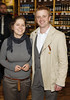 Joanna Chmielewska and Tim MacArthur at the opening of Blackrock Cellar in Blackrock village