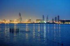 Blue hour (heshaaam) Tags: bahrain manama