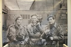 D Day  Army photographic unit ww 2 (Martin Pritchard) Tags: bridge cemetry france museum gold la utah war pegasus military german american sword beaches omaha normandy mere eglise caen arromanches juno mulberry cambe horsa ddasy ranvill overlordsainte