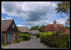 Singleton (fujibera) Tags: sussex thatched cottages ononesoftware