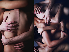 Embrace II (xBellanottephotography) Tags: portrait art studio nude hands arms skin body human portraiture bone spine emotional nudity embrace emotive stardust xbellanotte
