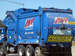 Allied Waste Garbage Truck (2) (Photo Nut 2011) Tags: california trash garbage junk sandiego waste refuse sanitation garbagetruck 1223 trashtruck wastedisposal alliedwaste