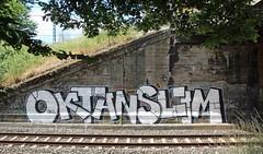 Oktan Slim. (universaldilletant) Tags: graffiti slim frankfurt oktan