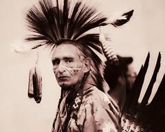 Pow Wow Dancer, Surrey, BC (gks18) Tags: canon dancer aboriginal powwow niksoftware lightroom