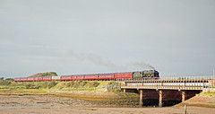 46115 Scots Guardsman  approaching Ravenglass (Barrytaxi) Tags: