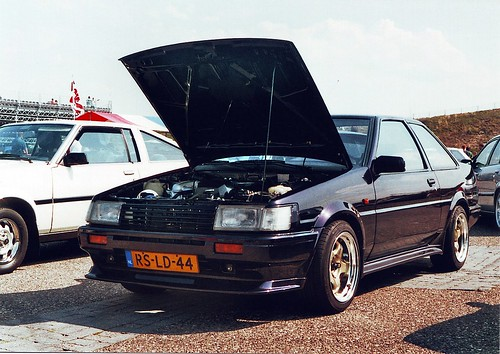 Corolla AE86 with BEAMS 3S-GE @ JAF2011