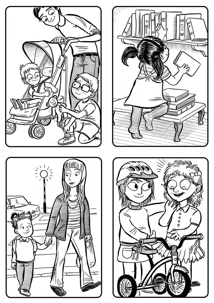Kids' illustrations