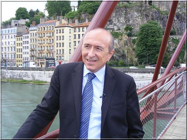 Gérard Collomb Rives de Saône
