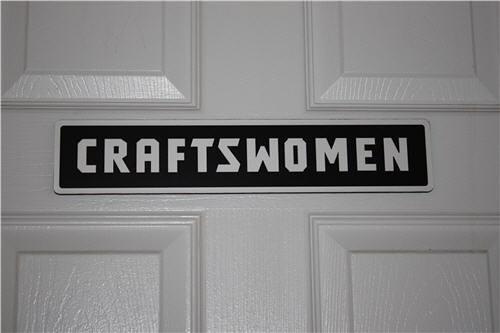 The Ladies Room in The Craftsman Experience