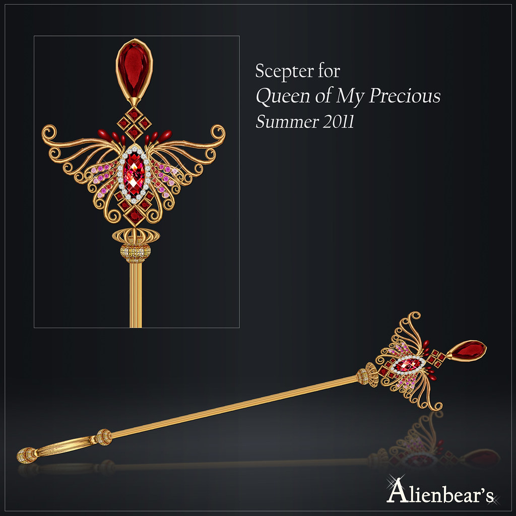 Scepter for Queen of My Precious 2011 Summer