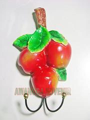 souvenir gypsum ganci apel besar