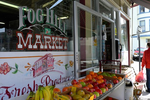 Fog Hill Market, San Francisco (courtesy of Chuck Wolfe)