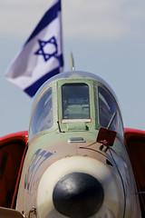 Proud Scooter (Alvaro Aviation) Tags: clouds israel aviation scooter camo planes skyhawk militaryaviation 387 openday mcdonnelldouglas iaf israelairforce indepenceday ramatdavid a4n ef300mmf28lisusm ordenance aait llrd canon5dmarkii ef14xextenderiii ramatdavidiafb