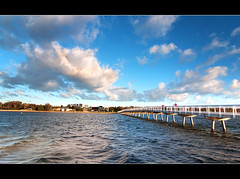 Footbridge | Lake Entrance (Adib Wahab Photoghraphy) Tags: nikon footbridge tokina 1224mm d90 lakeentrance nd4cokinfilter adibwahabphoto