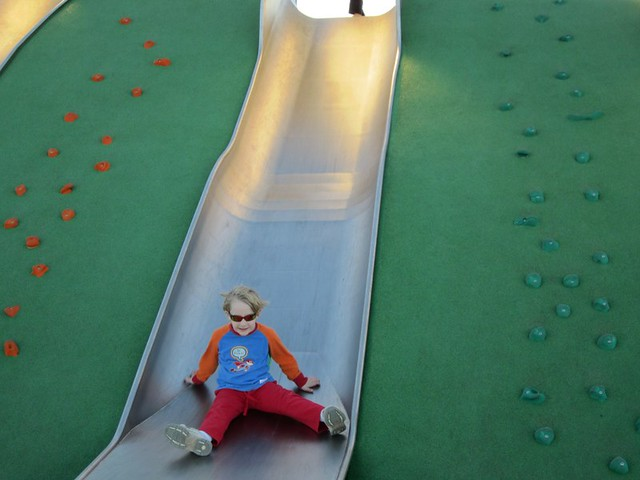 will coming down slide