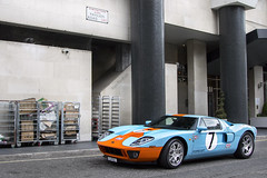 Gulf. (Alex Penfold) Tags: auto camera blue light orange colour london heritage cars ford alex sports car sport mobile canon photography eos hotel photo cool l1 flickr colours gulf image awesome flash picture super spot harrods knightsbridge exotic photograph spotted hyper gt edition supercar spotting exotica sportscar 2012 sportscars supercars milenium penfold fgt spotter hypercar 60d hypercars alexpenfold l1fgt