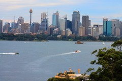 Taronga Zoo View (claireclinch) Tags: city water animal ferry landscape zoo view harbour sydney centrepoint tarongazoo