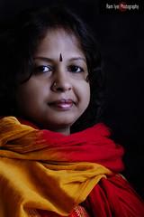 Portrait... (Ram Iyer Photography) Tags: portrait beauty studio colorful retouch strobes canonguy ramiyer