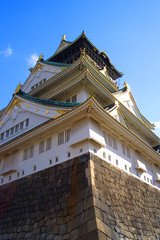 Osaka Castle  (akwan.architect) Tags: castle japan japanese asia osaka unification osakacastle  sakaj chku earthasia azuchimomoyama
