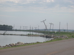 Otter Tail Power - Benson County, ND [Explored] (NDLineGeek) Tags: explored 41600v otp
