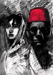 Francisca & Karloff (The subliminal agency) Tags: boris goya karloff