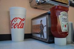 Rockabilly's Burger Shop at Graceland - Memphis, TN (Adventurer Dustin Holmes) Tags: ketchup graceland 2012 heinztomatoketchup cocacolacup ketchupbottles ketchupbottle rockabillysburgershop elvisweek35thanniversary