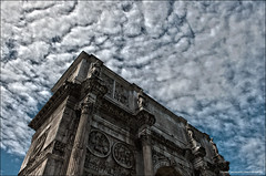Arch Of Constantine, Rome - HDR (Stuart-Saunders) Tags: italy rome nikon arch roman constantine hdr d700
