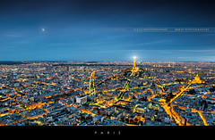 Paris by night (Beboy_photographies) Tags: panorama paris france les skyline tour eiffel invalides toureiffel montparnasse nuit hdr lesinvalides panoramique tourmontparnasse