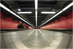 . (an to nin) Tags: paris underground subway metro nation rer tapisroulant métroparisien