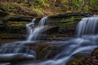 Buttermilk Falls State Park, New York