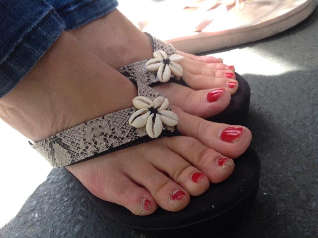 Nice mature asian soles