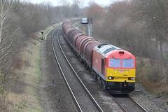 60024 steel 6E08 kingsbury (railways.2011) Tags: class 60 kingsbury 60024