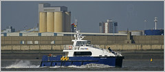 P&O Santa Ana @ Liverpool (steeedm) Tags: liverpool ship catamaran po santaana shipping mersey newbrighton workboat rivermersey pomaritime pomaritimeservices crewtransfervessel lymeboats renewablesupportvessel