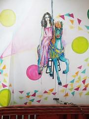 Done (KSENiA) Tags: telaviv acrylic carousel unicorn 7thfloor centralstation ksenia mexedmedia
