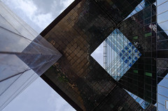 Geometry Pick & Mix (The Green Album) Tags: brick london glass metal architecture underground 1 pov geometry contemporary shapes angles