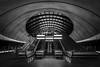 all seeing eye (vulture labs) Tags: blackandwhite bw london monochrome architecture underground subway metro interior tube monochromatic londonunderground canarywharf bwlondon vulturelabs
