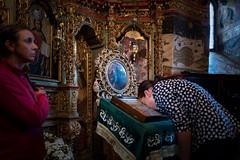 Sucevia Monastery (interior) (Sergio_MI) Tags: religion orthodox prayer devotion faith art romania monastery nunnery sucevita bucovina icons convent