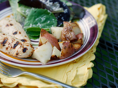 Herbed Grilled Red Potatoes