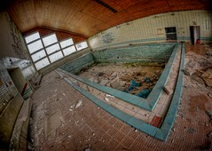 The Pool! Wellness Area! (Batram) Tags: urban mountain abandoned pool swimming army hotel decay berge exploration spa trespassing wellness nationale urbex schwimmbad batram volksarmee erholungsheim